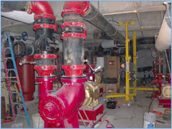 HVAC Shop Drawings, Piping Shop Drawings, Plumbing Shop Drawings and MEP Coordination Drawings provide the planning, accuracy and approvals needed for large pipe and pump installations used in Municipal Waste and Sewage Treatment Facilities.jpg